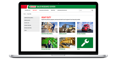 Castrol Sales Resource Center